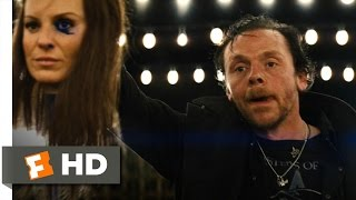 The World's End (5/10) Movie CLIP - Fighting the Twins (2013) HD