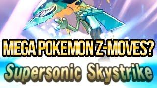 Can Mega Pokemon Use Z-Moves in Sun and Moon | Austin John Plays