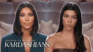 Kim & Kourtney Kardashian's Biggest Fights | KUWTK | E!