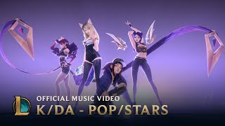 K/DA feat. Madison Beer, (G)I-DLE, Jaira Burns - POP/STARS thumbnail