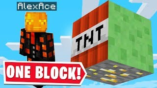 ALL OF MINECRAFT BUT IN ONE BLOCK.. (Part 2)