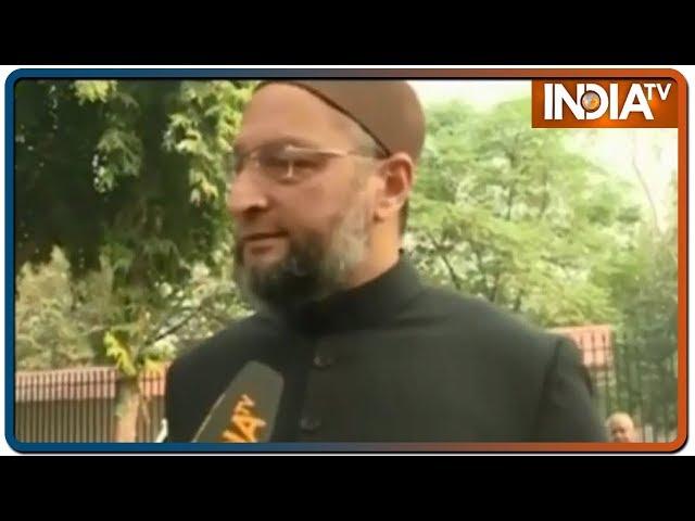 Aaj Ki Baat: Asaduddin Owaisi बोले- BJP को सत्ता का नशा है, गरीबों की दिक्कत दिखाई नहीं देती