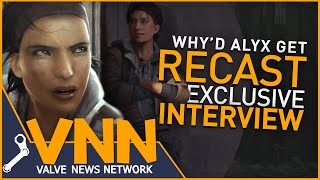 Why'd Alyx Get Recast? - Exclusive Half-Life Interview