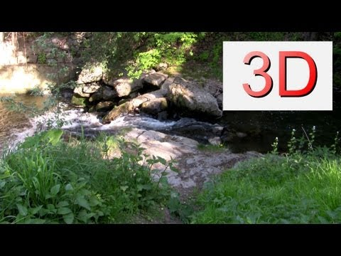 3D Video: Waterfall Relaxation #2
