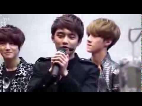121019 EXO-K D.O KyungSoo acappella MAMA @ Love Sharing Concert 엑소케이 디오 경수 ママ