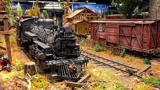 One Of The Best and Most Detailed Model Railroad Layouts in the World 4K UHD