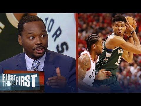 Bucks or Raptors: Who has the edge with the series tied? | NBA | FIRST THINGS FIRST