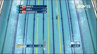 Nguyễn Thị Ánh Viên giành huy chương 200m bơi ngửa, Asian Games 2014.