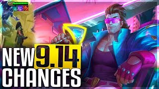 4 New REWORKS, New Death Recap & Massive Changes Soon In Patch 9.14 (Buffs & Nerfs) - LoL