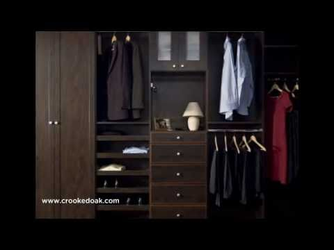 Chicago Custom Closets By Crooked Oak