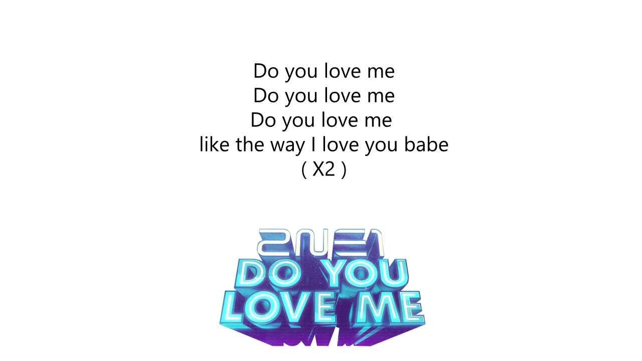 Yg Who Do You Love Lyrics 2ne1 - Do you l...