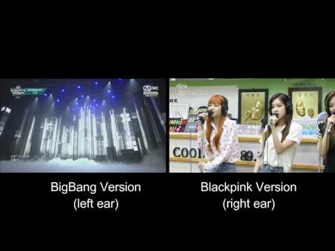 BigBang - Loser (Blackpink Cover Comparison)