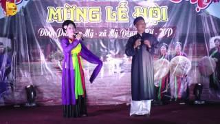 Cô Đôi Thượng Ngàn _ Vợ chồng Nghệ sỹ chèo Hải Phòng tại hội đình 2017