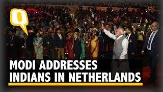 'Kaa Haal Baa?': PM Modi Addresses Indian Diaspora in Netherlands | The Quint