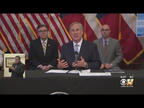 Gov Greg Abbott: Coronavirus Stay At Home Order Expires April 30; Partially Reopening Texas