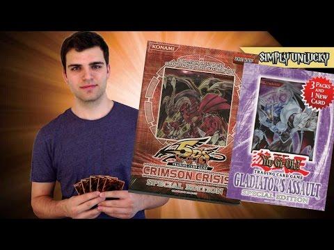 Best Yugioh Crimson Crisis & Gladiators Assualt, Special Edition Mini Box Opening! ..Cloud Balls..