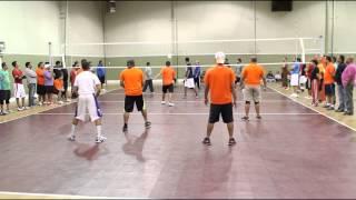 Dallas A VS Nashville A at Nashville Desi Volleyball tournament 2014