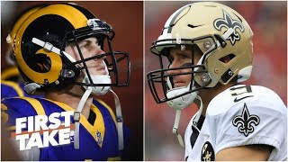 Rams and Saints are the teams to beat in the NFC l First Take
