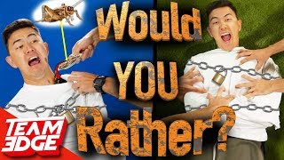"""""""Would You Rather!?"""" In Real Life! 