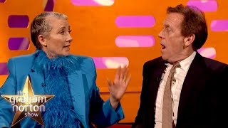 Emma Thompson Drunkenly Ate Her Husband's Great British Bake Off Cake | The Graham Norton Show