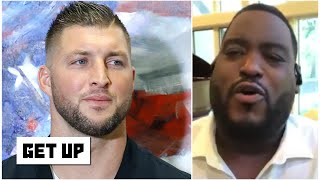 Tim Tebow to be a Jaguars QB?: 'It's just a bunch of nonsense!' - Damien Woody | Get Up