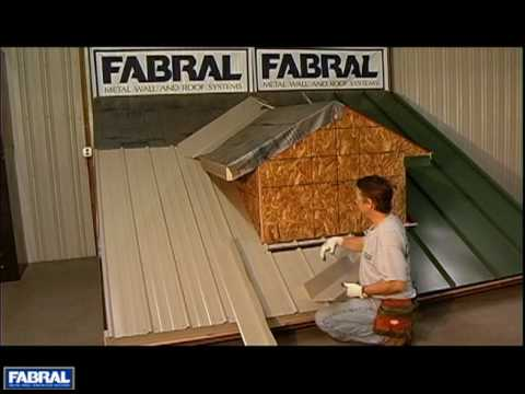 Fabral Gr3 07 Dormer Sidewall Endwall Youtube