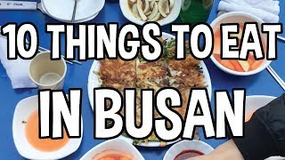😋What to eat in Busan, South Korea (부산여행 맛집)
