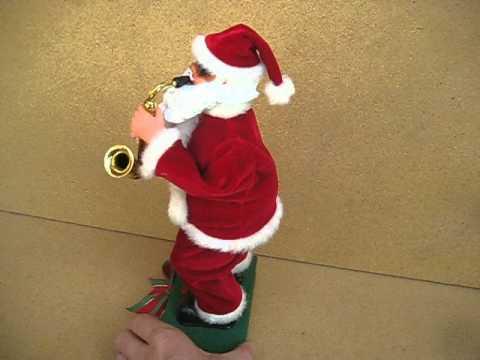 Saxophone Playing Santa Claus 13