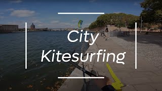 KITESURFING in the CITY of TOULOUSE - TFKvlog#01
