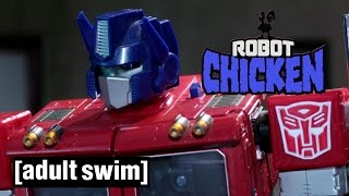 Transformers Compilation | Robot Chicken | Adult Swim