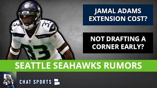 Seahawks Draft Rumors On Not Taking CB Early + Jamal Adams Extension Cost And Cody Barton Starting?