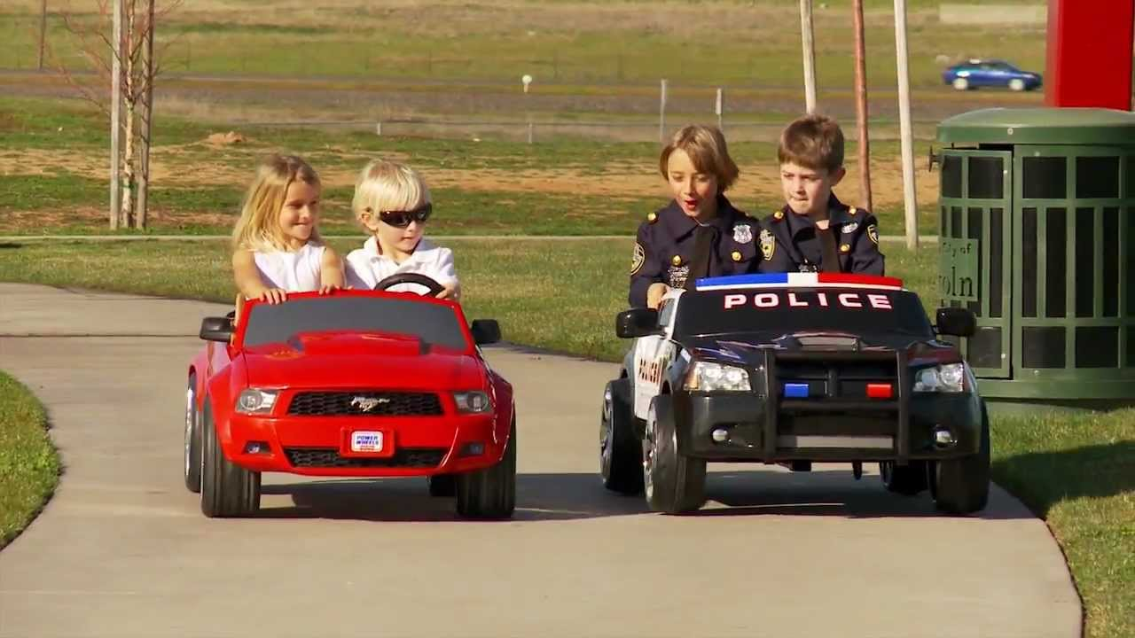 Kid Trax Dodge Police Car