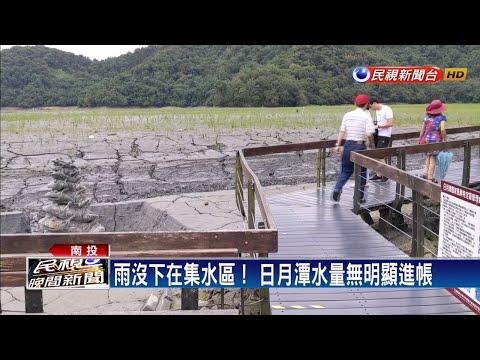 雨沒下在集水區 日月潭水量補給不足-民視新聞