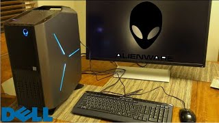Dell Alienware Aurora Gaming PC Unboxing