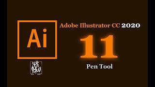 Pen Tool in Illustrator CC 2020 البن تول في أدوبي اليستراتور #11