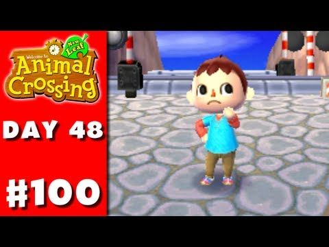 Animal Crossing: New Leaf - Part 100 - ZackScott Shirt (Nintendo 3DS Gameplay Walkthrough Day 48) - Smashpipe Games