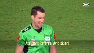 Mic'd up! An exclusive look at a referee's perspective of an A-League game