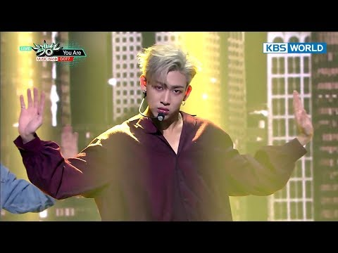 GOT7 - You Are [Music Bank HOT Stage / 2017.10.20]