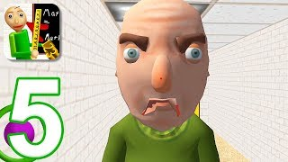 Baldi's Basics in Education - Gameplay Walkthrough Part 5 - New 3D Update (iOS)