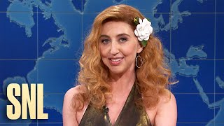 Weekend Update: Famous 80's Cocaine Wife Carla on NYC Nightlife - SNL