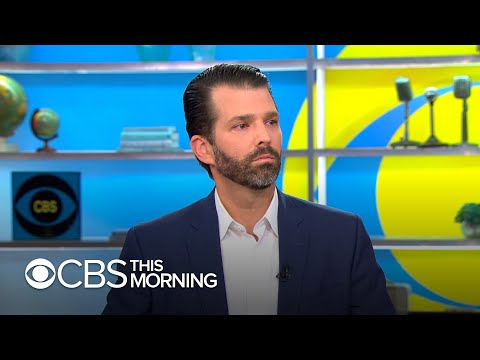 """Donald Trump Jr. talks new book, says """"there are very few people"""" his dad can """"fully trust"""""""