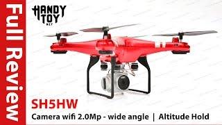 Full Review - Máy bay điều khiển từ xa SH5HW
