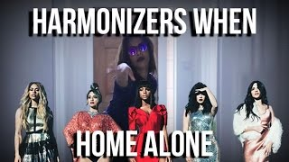 HARMONIZERS WHEN HOME ALONE| Free 5H Merch Giveaway
