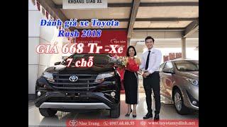 [ĐÁNH GIÁ XE TOYOTA RUSH 1.5G NHẬP KHẨU] Phần 1-Xe 7 chỗ Giá rẻ -Như Trung Toyota