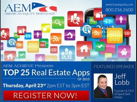 AEM Achieve #8: The Top 25 Real  Estate Apps of 2015