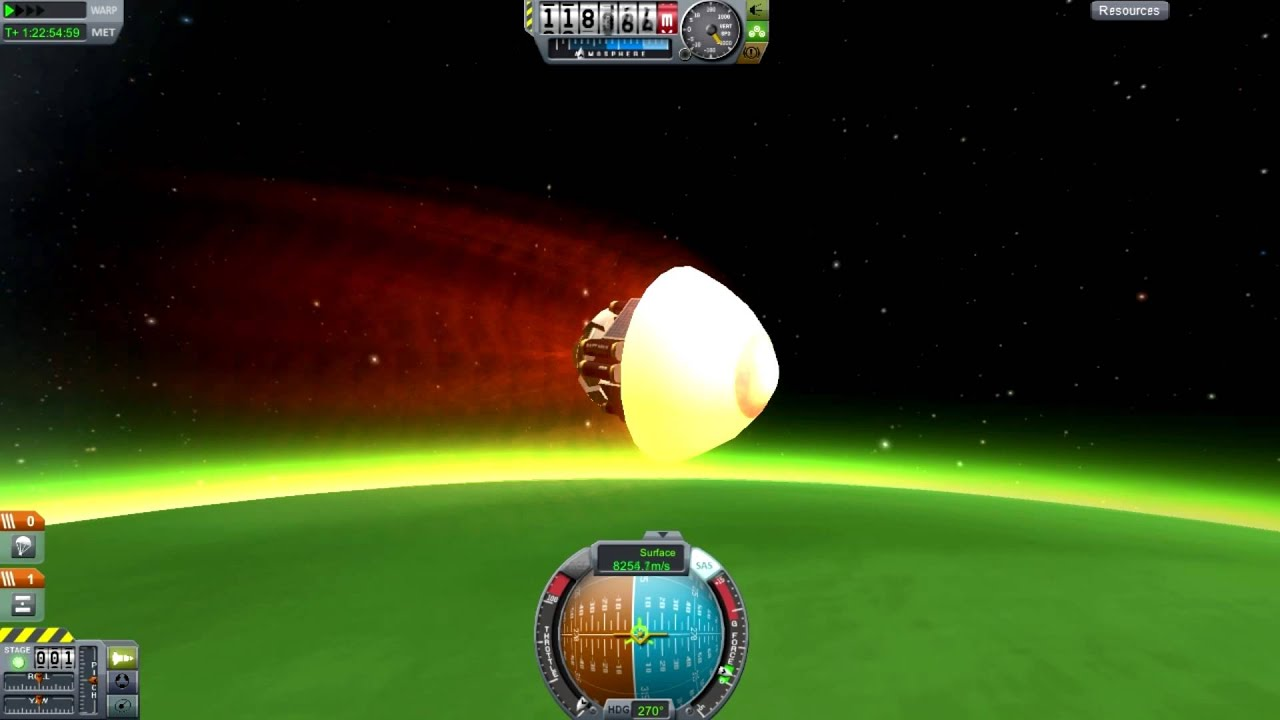 kerbal space program re entry - photo #6