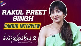 Rakul Preet Candid Interview: Manmadhudu 2 Movie- Nagarjun..