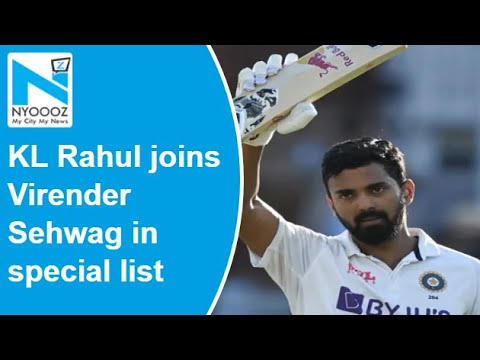 India Vs England: KL Rahul joins Virender Sehwag in special list