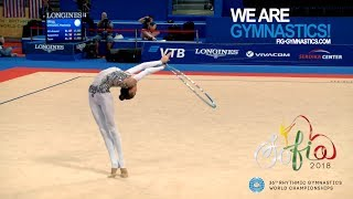2018 Rhythmic Worlds, Sofia – Qualifications Hoop and Ball, Day 1