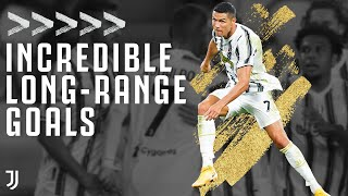 Incredible Goals From Outside the Box! | Ronaldo, Dybala, Nedved, Pirlo & More | Juventus
